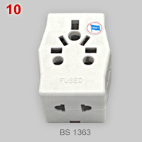 Multi-outlet adapter (BS 1363plug)