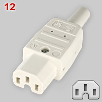 IEC 60320 C15 appliance connector