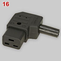 IEC 60320 C19 appliance connector
