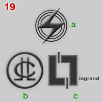 Logos of Legrand and Electro Securit companies