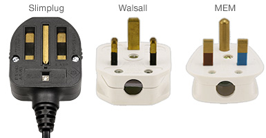 Non-standard BS 1363 plugs