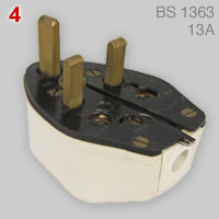 Fitall 5 in 1 plug (BS 1363)