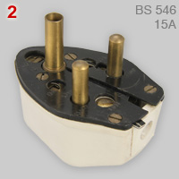 Fitall 5 in 1 plug (BS 546, 15A)