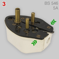 Fitall 5 in 1 plug (BS 546, 5A)