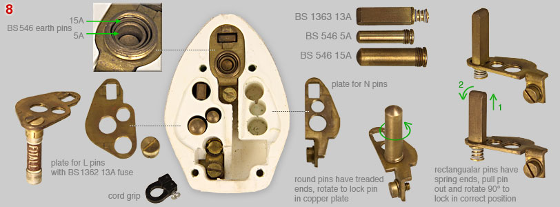 Fitall 5 in 1 plug (components)