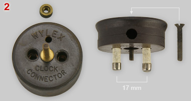 Wylex clock connector, socket and plug