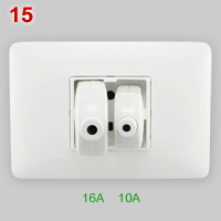 4BOX 3 in 1 socket with 10A and 16A plug