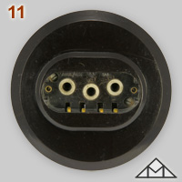 Three-phase 10A 380V socket made by Ernst Mat�