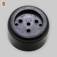 Classic Polish 4-pin 25A 380V socket