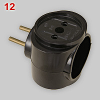 Russian 3-way multi-plug