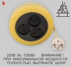 Russian cable reel